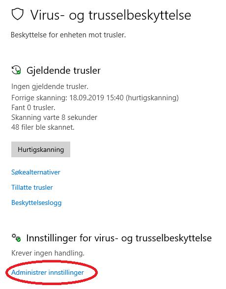 windows 10 problemer